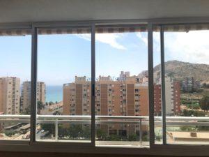 Продается квартира с видом на море в районе Albufereta